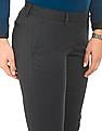 Arrow Woman Solid Slim Tapered Fit Trousers