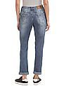U.S. Polo Assn. Women Mid Rise Slim Fit Jeans