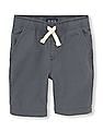 The Children's Place Boys Solid Woven Shorts