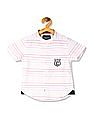 Cherokee Boys Striped Short Sleeve Shirt