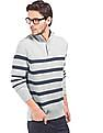 Nautica Striped Regular Fit Sweater