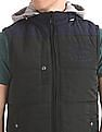 U.S. Polo Assn. Denim Co. Contrast Hood Gilet Jacket