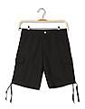 Bayisland Standard Fit Solid Cargo Shorts