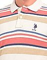 U.S. Polo Assn. Slim Fit Striped Polo Shirt