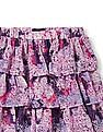 The Children's Place Girls Floral Print Tier Skirt