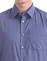 Arrow Newyork Slim Fit Patterned Check Shirt
