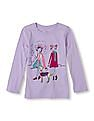 The Children's Place Girls Full Sleeve Group Dog Print T-Shirt