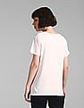 GAP Pink Crew Neck Graphic T-Shirt