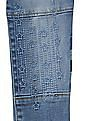 GAP Baby Blue 1969 Embroidered High Stretch Jeggings