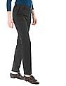 Arrow Woman Solid Regular Fit Trousers