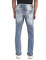 Flying Machine Slim Straight Fit Stone Wash Jeans