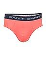 Gant Cotton Elastane Briefs - Pack Of 3