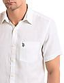 U.S. Polo Assn. Solid Linen Shirt